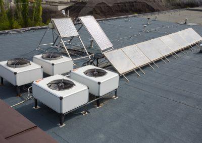 Solární absorbéry